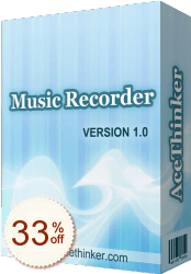 Acethinker Music Recorder Discount Coupon