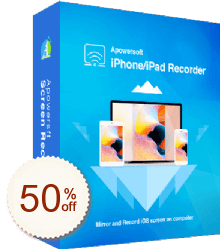 Apowersoft iPhone/iPad Recorder Discount Coupon
