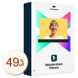 Wondershare Filmora Discount Coupon