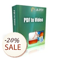 A-PDF to Video Discount Coupon