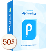 ApowerPDF Discount Coupon