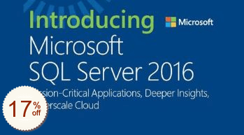 Microsoft SQL Server Discount Coupon