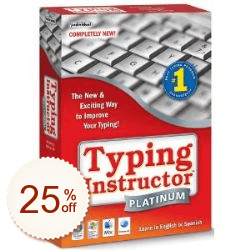 Typing Instructor Platinum Shopping & Trial