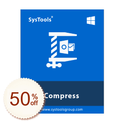 SysTools PST Compress Discount Coupon