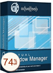 Actual Window Manager Discount Coupon